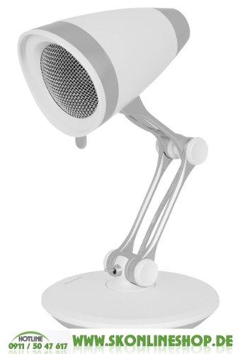 Kar@Kas * Boynq Vibe - USB Speaker / Lautsprecher (Weiß) *Design Lautsprecher 5W in Lampen Form
