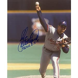 John Wetteland Montreal Expos Signed 8x10 Photo W COA by Hollywood+Collectibles