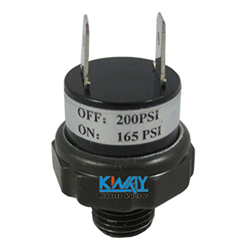 Super Bargain!!! New Model!! Air Pressure Switch For Train Horn Compressor Rated 165/200 Psi Brand New