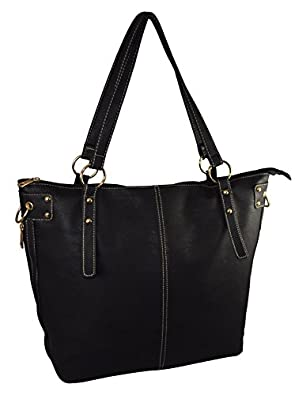 Patzino Exclusive Fashion Collection, Faux Leather Women's Tote Handbag