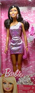 12 African American Barbie Doll With Accessories from Mattel