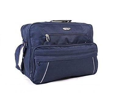 Navy Lightweight Shoulder Bag, Onboard Cabin Flight Travel Holdall