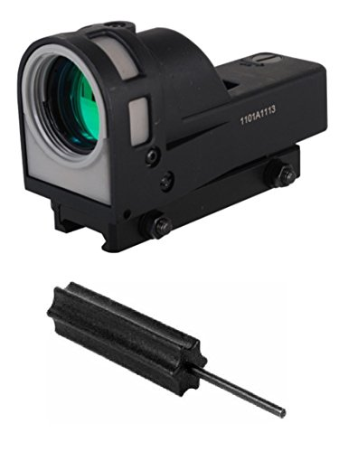 Meprolight The Mako Group M21 D5 Self-Powered Day/Night Reflex Sight With Dust Cover - 5.5 Moa + Ultimate Arms Gear Pro Disassembly 3/32 Pin Punch Armorers Gunsmith Tool