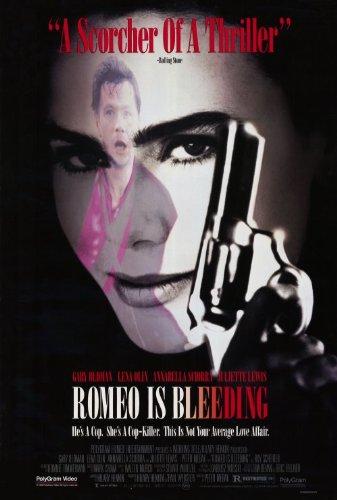 Romeo is Bleeding Poster B 27x40 Gary Oldman Lena Olin ...