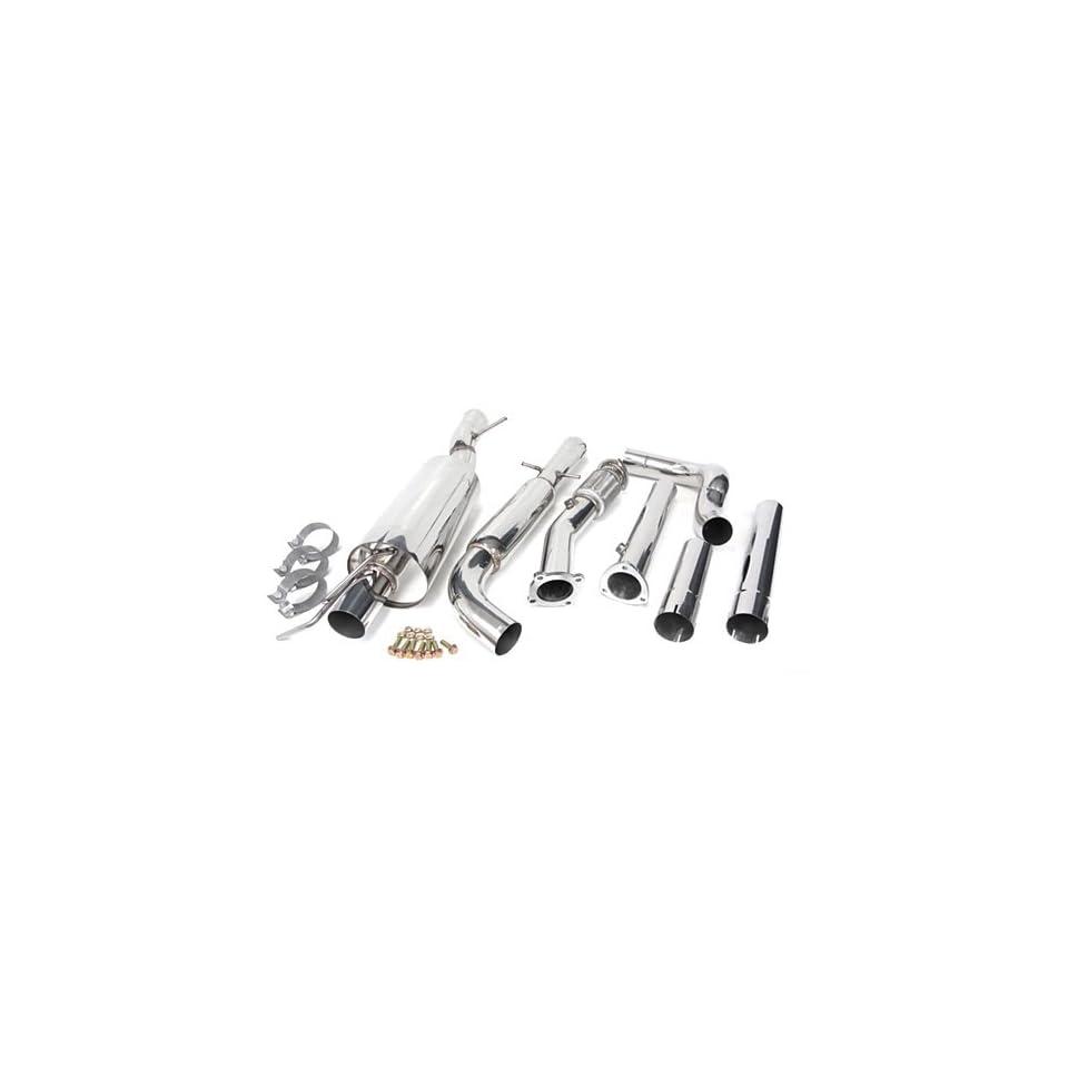 99 05 Volkswagen Golf GTI Catback Muffler Exhaust System + Downpipe 99 00 01 02 03 04 05