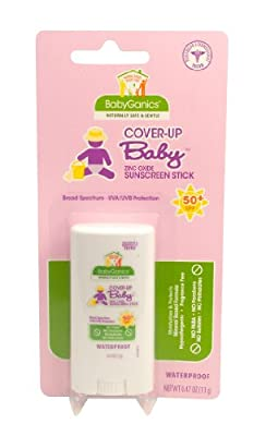 Best Cheap Deal for Babyganics Pure Mineral Sunscreen Stick SPF 50, 0.47-Ounce (Pack of 2), Packaging May Vary from Babyganics - Free 2 Day Shipping Available