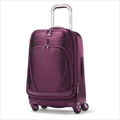 "Samsonite Women's Xspace 21.5"" Expandable Spinner, Solar Rose, One Size"