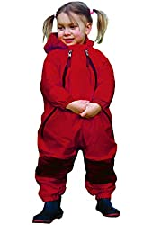 Tuffo Muddy Buddy Coveralls, Red, 24 Months