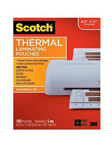 scotch-thermal-laminating-pouches-89-x-114-inches-5-mil-thick-100-pack-tp5854-100clear