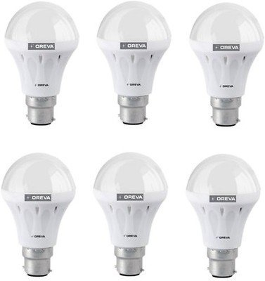 12W ECO LED Bulb (Cool Day Light , pack of 6)