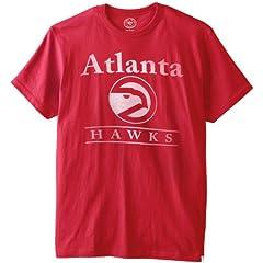 NBA Atlanta Hawks Flanker Tee, Rescue Red by
