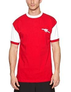 Score Draw Official Retro Arsenal 1971 No7 Shirt - Small