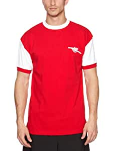Score Draw Official Retro Arsenal 1971 No7 Shirt - Small