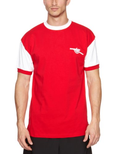 Score Draw Official Retro Arsenal 1971 No7 Shirt - Medium