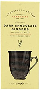 Cartwright & Butler Dark Chocolate Ginger Biscuits 200 g