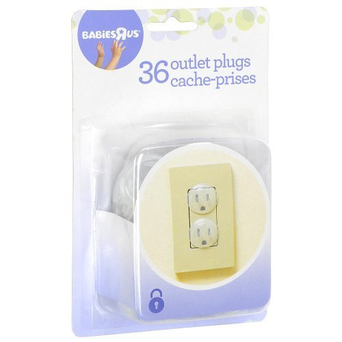 Babies R Us Outlet Plugs - 36 Count Keep Those Little Fingers Safe!! - 1