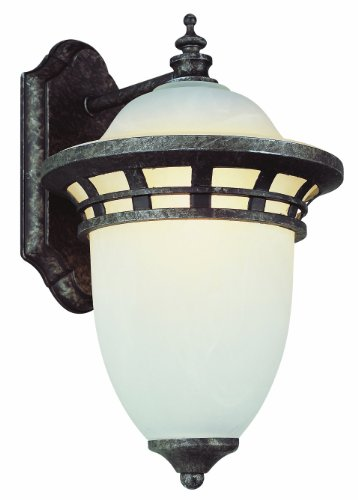 Trans Globe Lighting 5111 BZ 1-Light Coach Lantern, Bronze