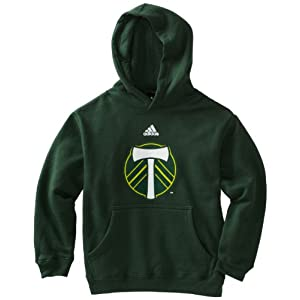 MLS Portland Timbers Team Logo Fleece Hoodie, 8-20 Boys