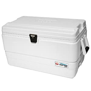 Igloo Marine Ultra Cooler (White, 72-Quart) by Igloo