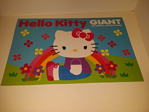 Hello Kitty Giant Coloring and Activity Book. - 1