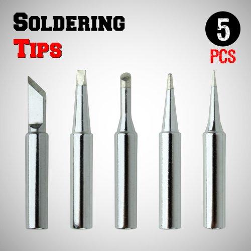save new 5pcs soldering tips 900m t i b k 2 4d 3c. Black Bedroom Furniture Sets. Home Design Ideas