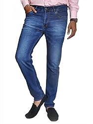 Scorzio Men's Regular Fit Jeans (SZ0004_2_Blue_32)