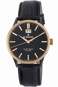 Edox Les Vauberts Mens Watch 63001 357RN NIR