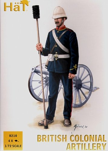 Hat Figures - Colonial Wars British Artillery - HAT8210