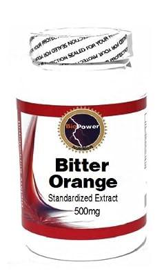 Bitter Orange Standardized Extract 500mg 90 Capsules # BioPower Nutrition