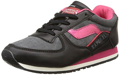 Kaporal  Joggy,  Sneaker ragazza Nero Noir (Noir/Rose) 32