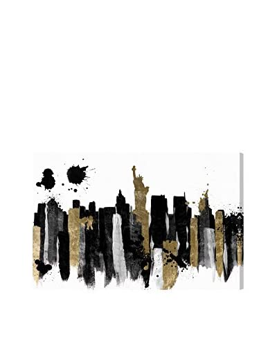 Oliver Gal Glamorous New York Canvas Art