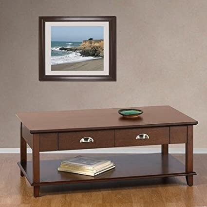 Better Homes and Gardens Oakmore Place Coffee Table, Cherry
