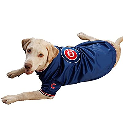 Pets First MLB Chicago Cubs Dugout Dog Jacket