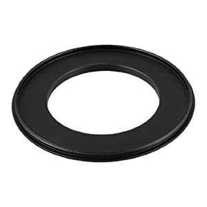52mm-77mm 52mm to 77mm Male/Male Step up Ring Adapter Black for Camera