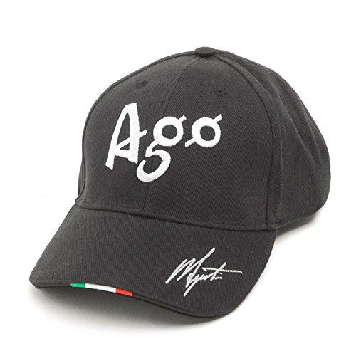 Giacomo Agostini Cap Champion, Colore: Nero, Taglia Unica