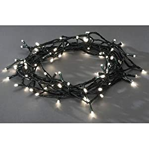 80 Outdoor Garden Lanterns Solar String LED Fairy Lights: Amazon.co.uk: Kitchen & Home