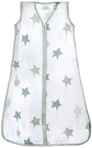 aden   anais 8063F classic sleeping bag, up, up & away - elephant / medium