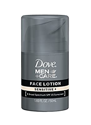 Dove Mencare Sensitive Face Lotion 169 Floz from Dove Men Plus Care