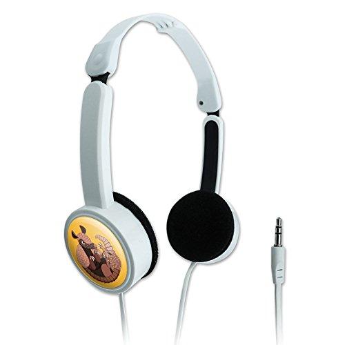 novelty-travel-portable-on-ear-foldable-headphones-animals-armadillo