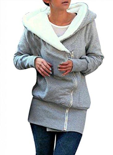 Minetom-Sweats--capuche-Veste-DAutomne-Dames-Manteau-DHiver--Capuchon-Sweat-Pull-Avec-Capuche-Sweat-Shirt