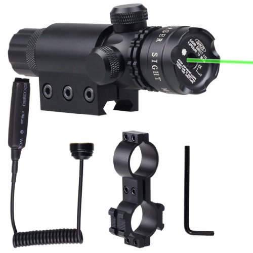 TUOFENG NEW Tail cap switch Green Dot Laser Sight