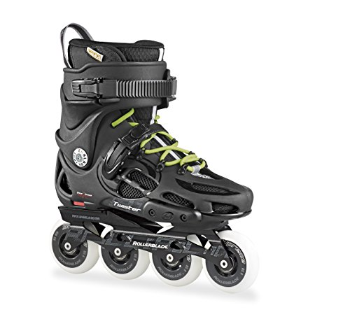 Rollerblade Twister 80 Pattino in Linea, Unisex adulto, Nero (Black/Grey), 43
