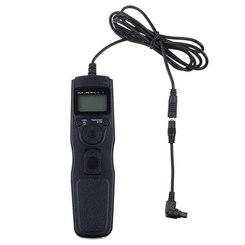 Fotga Intervallomètre Déclencheur à distance avec minuterie Remote Shutter Release Cord pour Canon 40D 50D 1D 5D Mark II III 6D 7D C3
