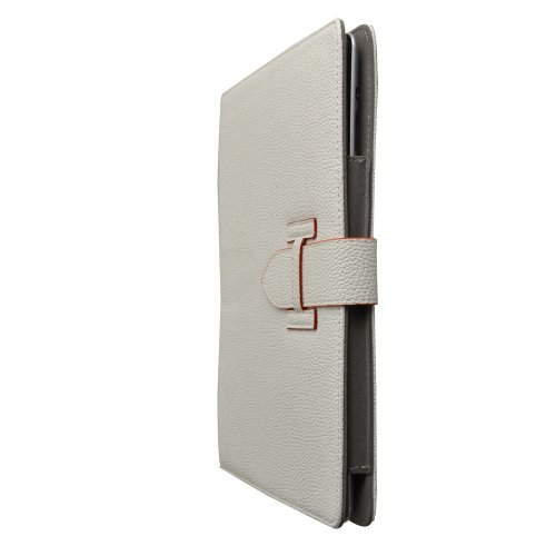 White Slim-Fit Folio Pu Leather Stand Case For Apple New Ipad 4 / Ipad 3 / Ipad2 Tablet front-208090