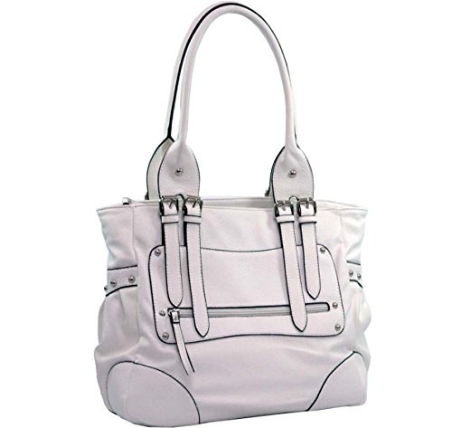 Fashionable Designer Inspired Classic Shoulder Handbag front-706550