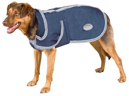 Weatherbeeta Landa Deluxe Dog Blanket - Navy/silver, 22