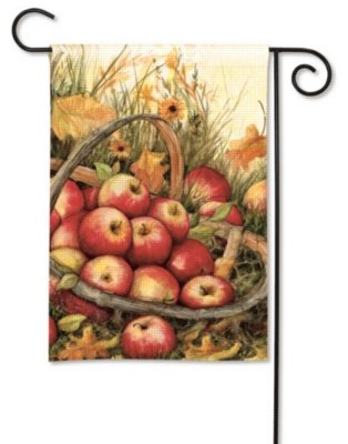 Breezeart Apple Picking Garden Flag 34087 Home Decor