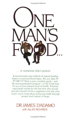 One man's food--is someone else's poison