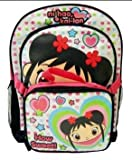 """Ni Hao Kai-Lan Backpack; Large 16"""" School Bag Travel Back Pack with Free Lunch Bag Officially Licensed Nickelodeon Nick Jr Product, Great Gift Idea for Girls"""