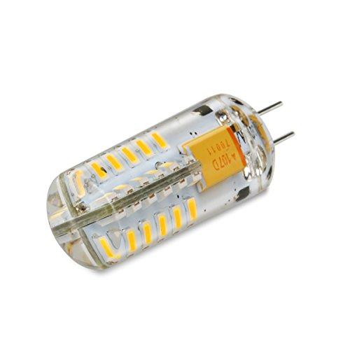 LEORX 5Pcs G4 12V AC DC 2.5W 140 - 160 Lumens Lampadina LED Luci, 48 LED SMD 3014 Risparmio ...